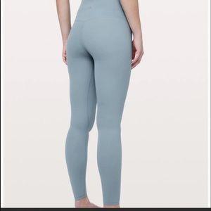 "NWT Lululemon Align Pant 28"" Blue Cast"
